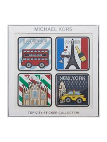 Michael Kors Top city sticker set