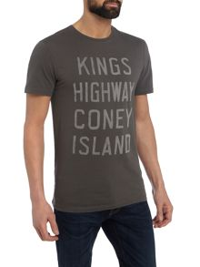 Label Lab Kings Highway Text Graphic