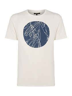Indigo Circle Graphic T-Shirt