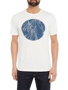 Label Lab Indigo Circle Graphic T-Shirt
