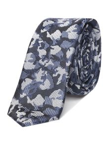 Label Lab Hicks camo jacquard tie