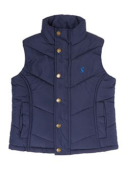 Boys Padded Gillet Coat