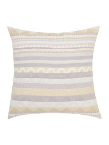 Dickins & Jones Eloise geo jacquard cushion