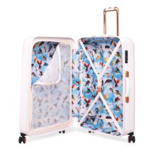 Ted Baker Oriental blossom 8 wheel large suitcase