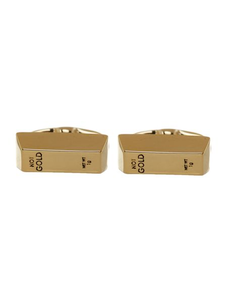Paul Smith Gold Bar Cufflink