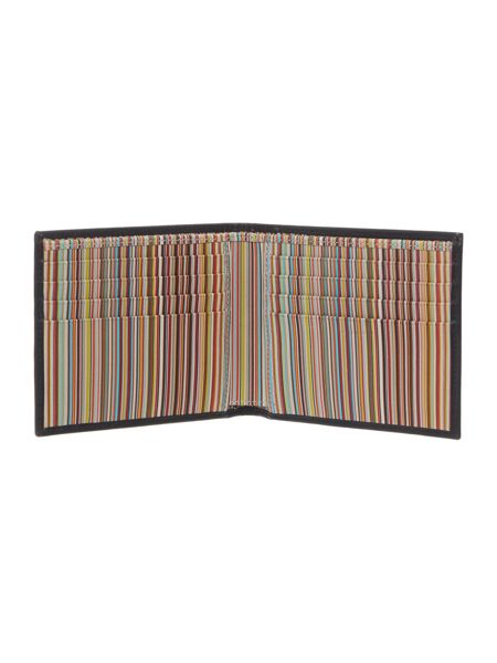 Paul Smith Internal Multi-Stripe Billfold Wallet