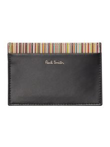 Paul Smith London Internal Multi-Stripe Card Holder