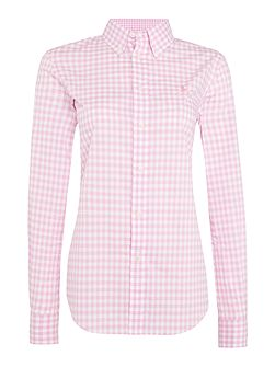 Button down kendal long sleeve shirt