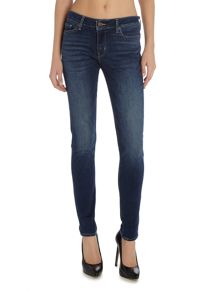 Levi's 711 Skinny Jeans in long way blues