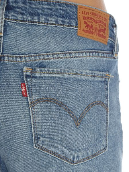 Levi's 714 Straight Jeans in Great Skies
