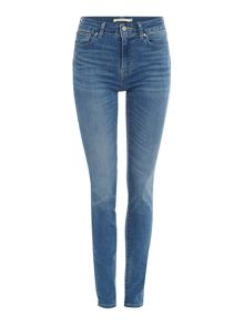 Levi's 721 High Rise Skinny Jeans in uptown indigo