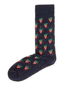 Mini Strawberry Sock