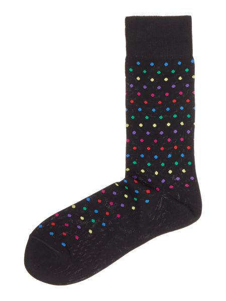 Paul Smith London Multi Polka Small Dot Sock