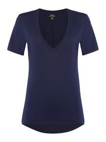 Polo Ralph Lauren Short sleeve v-neck top