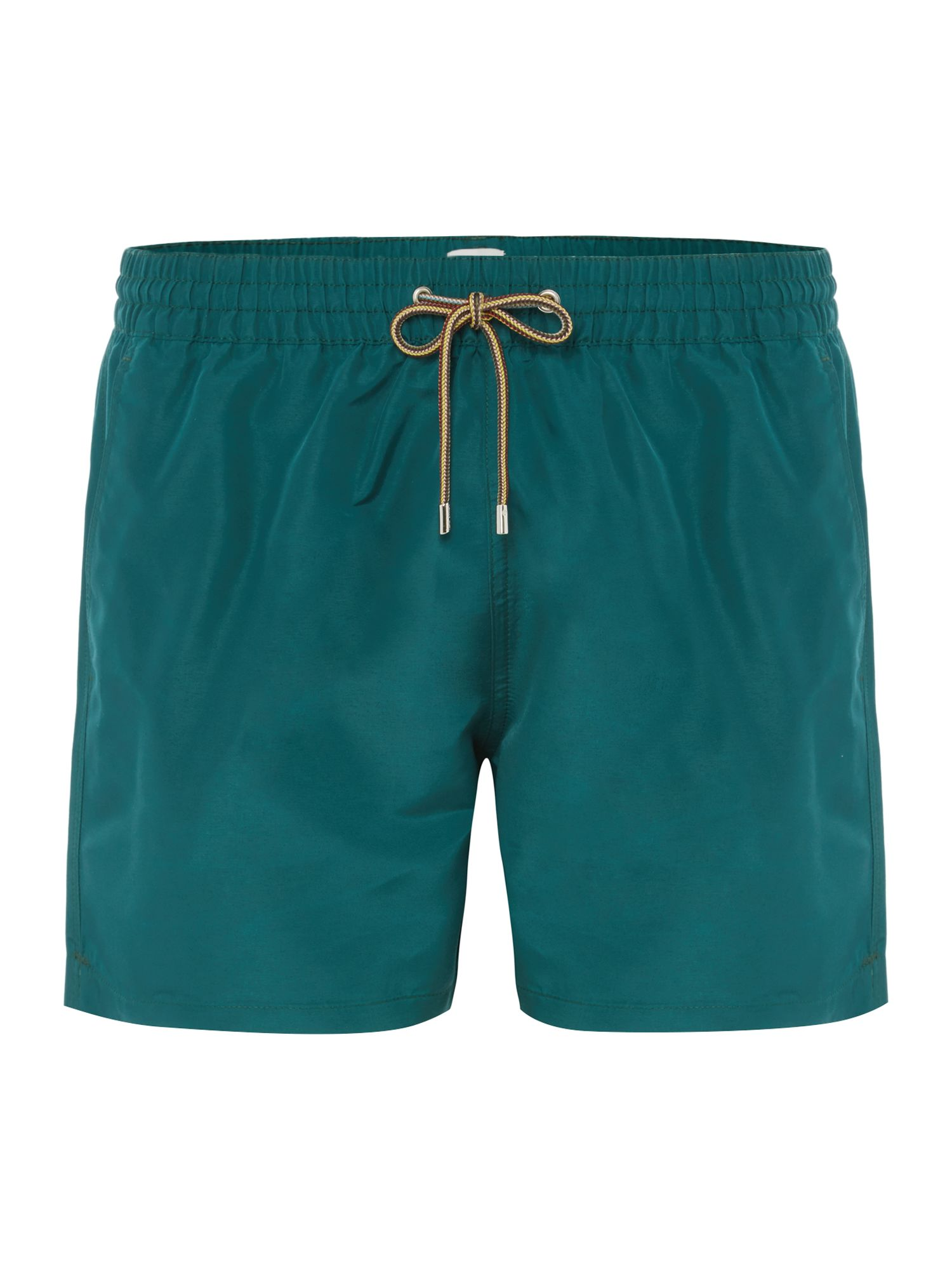 Men's Paul Smith Solid Colour Classic Swim Shorts, Green