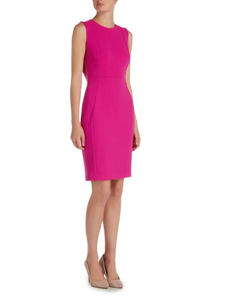 Episode Sleeveless pink dress with panelling