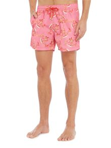 Paul Smith London Bright Frog Print Swim Short