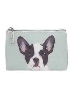 Dog on Stone Pouch
