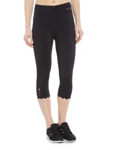 Ted Baker Scalloped edge mesh 7/8 legging