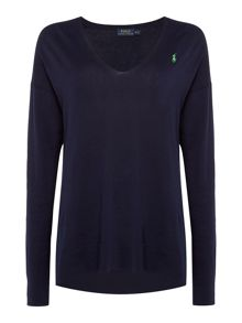 Polo Ralph Lauren Long sleeve v neck sweater