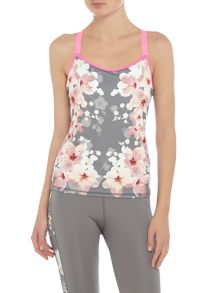 Ted Baker Blossom print strap top