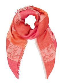 Vivienne Westwood Colombina Logo Scarf