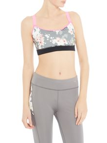 Ted Baker Blossom print cropped sports top