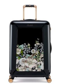 Ted Baker Gem garden 8 wheel medium suitcase