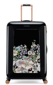 Ted Baker Gem garden 8 wheel large suitcase