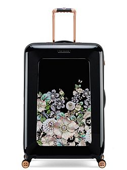 Gem garden 8 wheel large suitcase