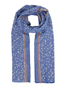 Dickins & Jones Denise bird denim wash print