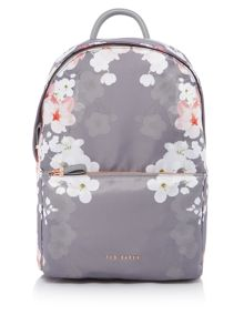 Ted Baker Blossom print sports backpack