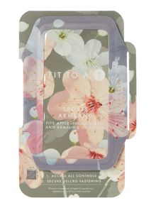 Ted Baker Blossom print sports armband