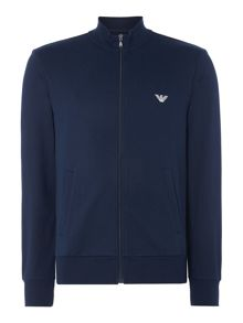 Emporio Armani Terry Zip Up Sweatshirt