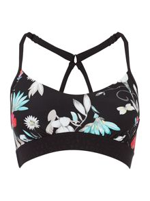 Seafolly Flower festival active bralette