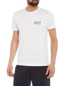 EA7 Core Crew-Neck Cotton T-shirt