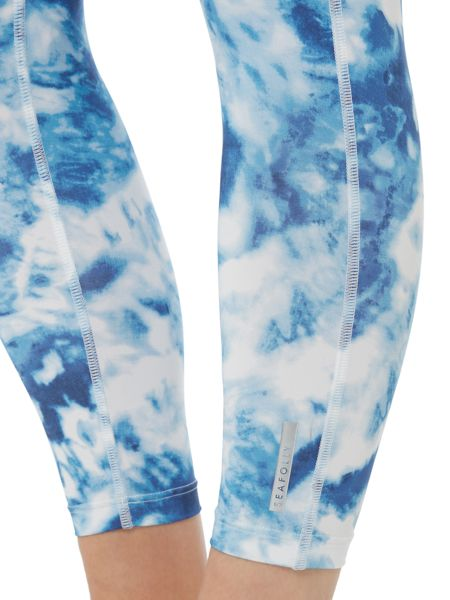Seafolly Carribean ink 7/8 sports legging