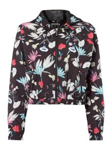 Seafolly Flower festival windbreaker hooded jacket