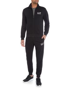 EA7 Train Core ID Zip-Through Polyester Tracksuit