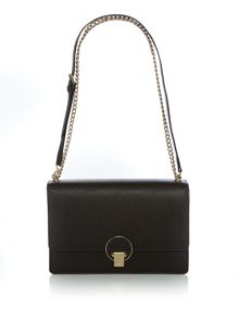 Vivienne Westwood Opio saffiano chain flap over bag