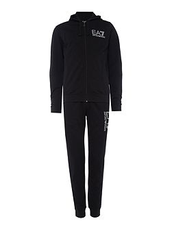 Train Visibility Zip-Through Cotton Tracksuit