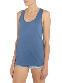 Seafolly Horizon luxe essentials air singlet sports top