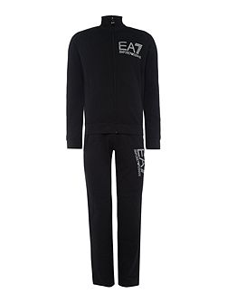 Train Core ID Zip-Through Polyester Tracksuit