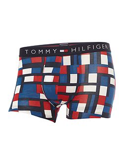 Icon Flag Abstract Print Trunk