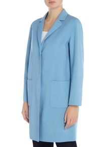 Max Mara ALDENO double faced wool coat with revere collar
