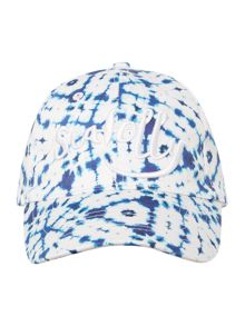 Seafolly Tie dye logo canvas sports cap