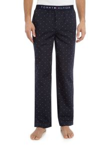 Tommy Hilfiger Icon Woven Mini Flag Print Pant