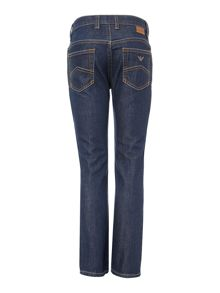 Armani Junior Boys Dark Wash Denim Jeans