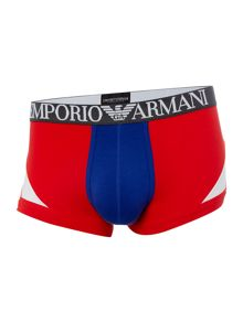 Emporio Armani Tri-Colour Block Trunks