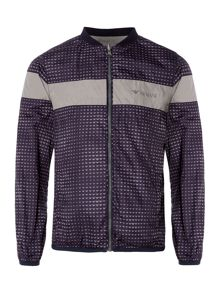 Armani Junior Boys Zip Up Reversible Jacket